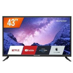 Título do anúncio: Tv Smart na Caixa 43 polegadas