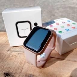 Título do anúncio: Smartwatch Y68 Original Rose Completo