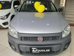 Novinha... Fiat Strada 1.4 Working Cab. Dupla - 2014 Completa