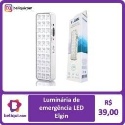 Título do anúncio: Luminária de Emergência LED   Elgin