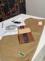 Bermuda, camisas, carteira Premium distribuidor diretamente da fábrica