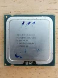 Título do anúncio: Processador Intel Pentium Dual Core