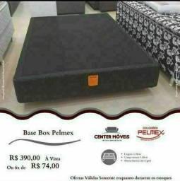 Título do anúncio: **BASE BOX PELMEX**(ENTREGA GRÁTIS)