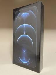 Iphone 12 pro max 256gb azul pacífico novo lacrado