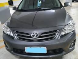 Toyota Corolla Xei 2.0 Flex Cinza Automático 2014 de Único dono.