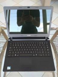 Notebook CCE U25 - 4GB de memória RAM - HD 500GB de armazenamento