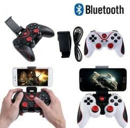 Controle Joystick Bluetooth 3.0 para PC e Android