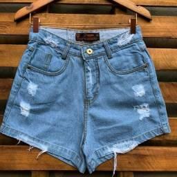 Short jeans claro  destroyer