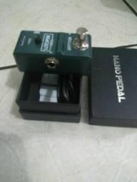 Pedal looper ammoon para guitarra violão