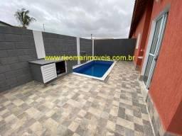 Título do anúncio: Casa nova com piscina a venda Bairro Cibratel II em Itanhaém