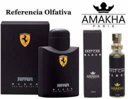Título do anúncio: Perfume - Fast Car Black (Ref. Ferrari Black)