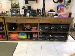 Moveis para montagem de loja - descrição