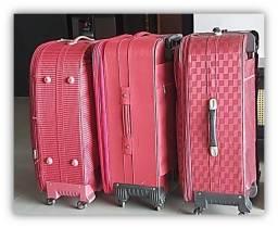 Título do anúncio: Leve 3 Excelentes Malas de Viagem Espaçosas e de Qualidade por Apenas R$ 300,00!!!