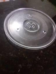 Prato De Vidro para microondas