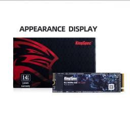 Título do anúncio: SSD M2 128gb, 256gb, 512gb e 1TB KingSpec NVMe PCIe - Entrego e Aceito Cartões