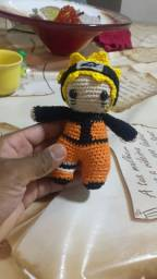Boneco Naruto crochê