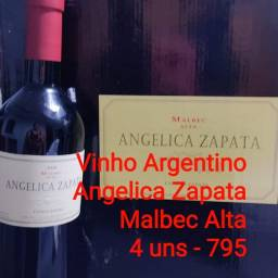 Vinho Argentino Angelica Zapata Malbec Alta