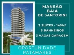 |Patamares| Mansão Baia de Santorini - 3 suítes, 145 m², infra estrutura total