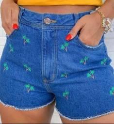 Short Jeans feminino atacado