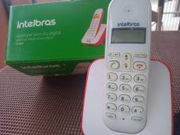 Título do anúncio: Telefone sem fio Intelbras modelo Ts3110