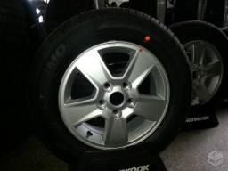 Roda Kia cerato 2011/2012/2013 aro 15+pneu 15 novo