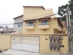 R$165.000,00 Casa triplex -3 quartos, cozinha,3 banheiros, varanda, terraço -sala, área sv