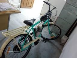 Bicicleta motorizada 80cc nova(extra)