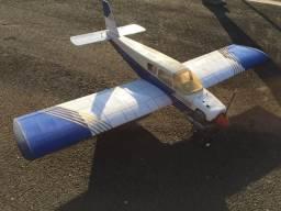 Aeromodelo Piper Cherokee Motor Os 55. Estudo Trocas