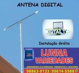 Antena Externa Digital (HD) para TV- Instalação e Configuração Grátis .Em Campina Grande !