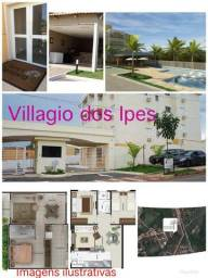 Alugo apartamento de 1 quarto Villagio dos Ipes Bairro Ribeirão do Lipa