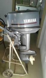 Barco de 6metros e motor 25 yamaha - 2006