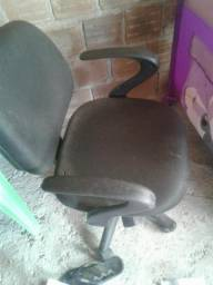 Cadeira giratória c/rodinhas