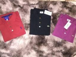 Camisa Polos Masculinas P M G GG