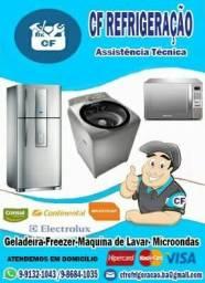 Assistência Técnica Especializada Em Geladeira, Freezer, Maquina de Lavar