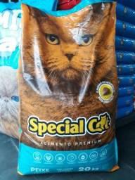 Ração de gato 20 kilos Special Gat de peixe