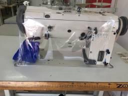 Maquina de costura zigue-zague industrial