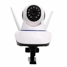 Camera De Segurança 2 Antenas Ip 360° Wi-fi