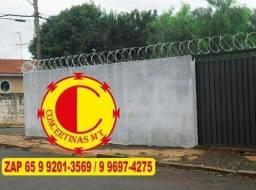 Venda e Instalação de Concertina Galvanizada Proteja sua Família