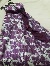 Lindo vestido de festa longo