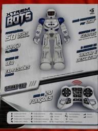 Lindo Robô Hi-Tech novo na caixa