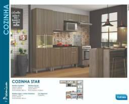 Cozinha Star Itatiaia 3 (600,00) ou 4 (900,00) peças - Frete Grátis consultar bairros