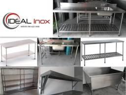 Moveis em aço inox - sua cozinha industrial com melhor preço do Brasil