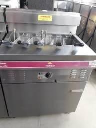 Título do anúncio: FGE-05 Fritadeira Fritador elétrico 220V, 36 Litros de Óleo e 5 Litros de Água - Tedesco