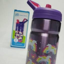 Garrafa Infantil Unicórnio 435 ml Cool Gear importado EUA