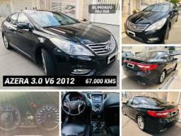 Hyundai Azera 2012 3.0 V6 Blindado Nij 3A Apenas 67 Mil Kms R$ 54.999,99 Ipva 21 Pago