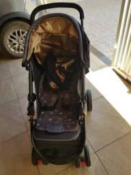 Carrinho de Bebê Cosco Travel System Nexus - Até 15 kg Semi Novo