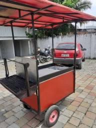 Vende-se um carrinho de churrasco