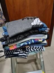 Lote roupas femininas 20 peças...