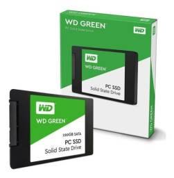 SSD 120gb WD Green sata 3 6Gbs 512mb/480mb leitura e gravaçao