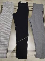 Lote roupas esportivas